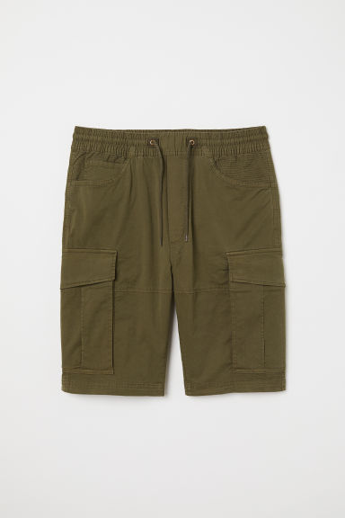Cargo shorts - Khaki green - Men | H&M