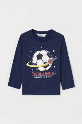 9637a825 Praktyczne topy i t-shirty dla chłopców | H&M PL