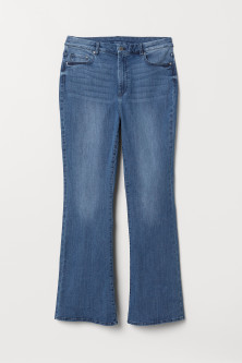 H&M+ Mini Flare High Jeans