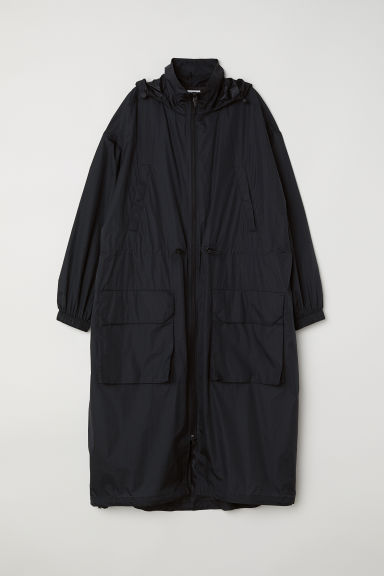 Lightweight parka - Black - Ladies | H&M