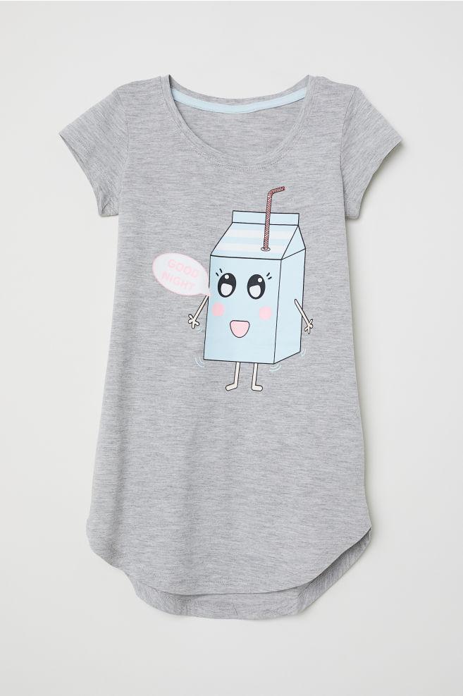 in vendita 6e0e9 3a423 Camicia da notte stampata