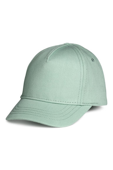 Twill cap - Mint green - Kids | H&M