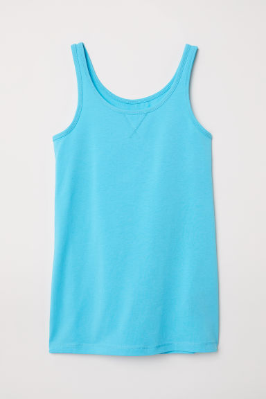 Jersey vest top - Turquoise - Kids | H&M CN