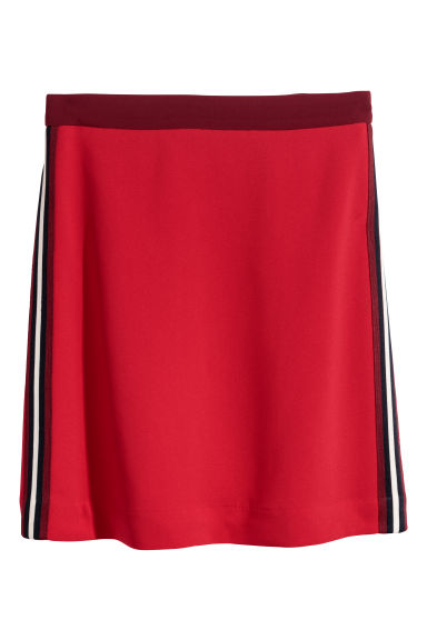 Short skirt - Red - Ladies | H&M CN