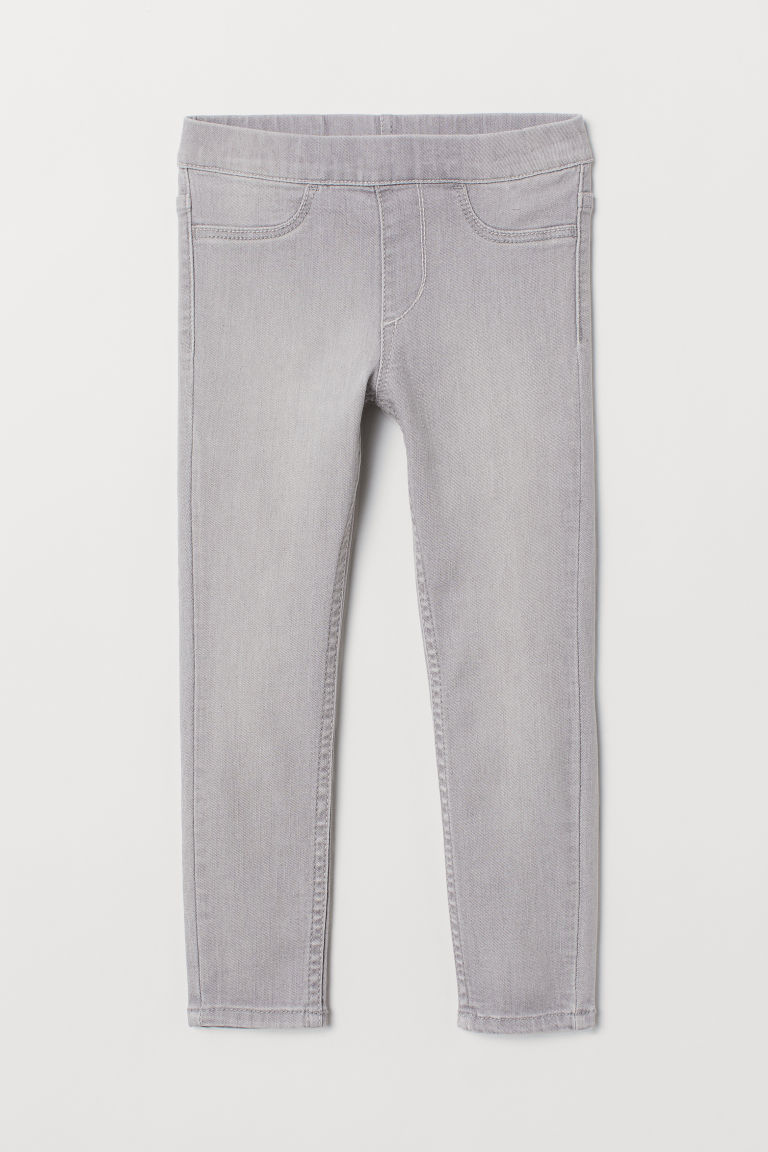 Denim Leggings - Gray - Kids | H&M US