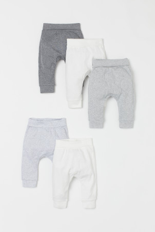 5-pack cotton trousers