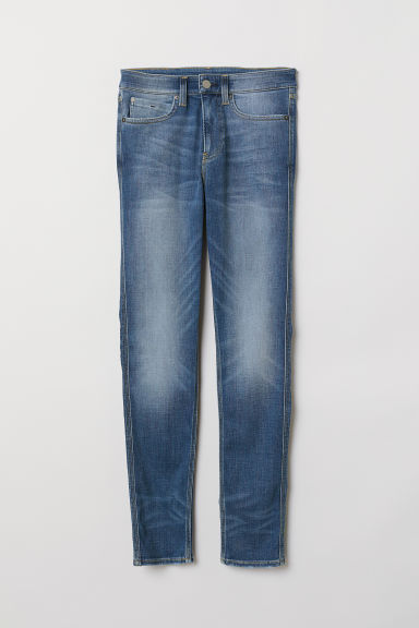 Tech Stretch Skinny Jeans - 牛仔蓝 - Men | H&M CN