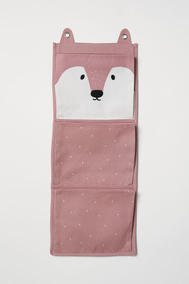 Canvas wall tidy - Pink/Fox - Home All | H&M CN