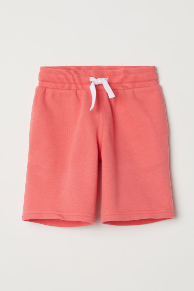 Sweatshirt shorts - Orange - Kids | H&M