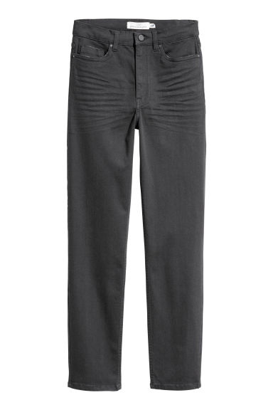 Stretch trousers - Dark grey -  | H&M GB