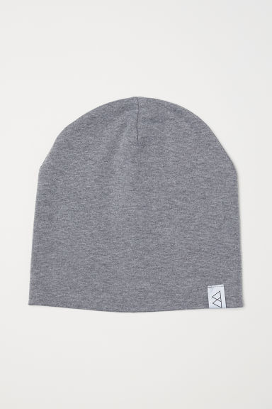 Jersey hat - Grey marl - Men | H&M