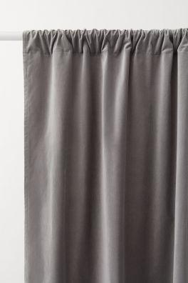 Enormt Gardiner til den bedste pris – H&M Home Collection   H&M DK GB-25