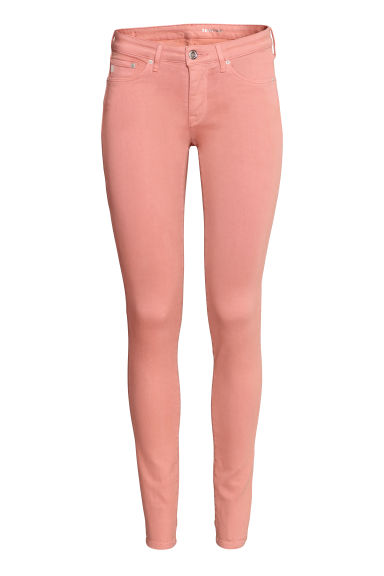 Shaping Skinny Low Jeans - Light pink - Ladies | H&M