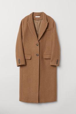 839ceb805a Kabát z vlnenej zmesi