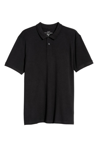 Polo shirt - Black -  | H&M IE