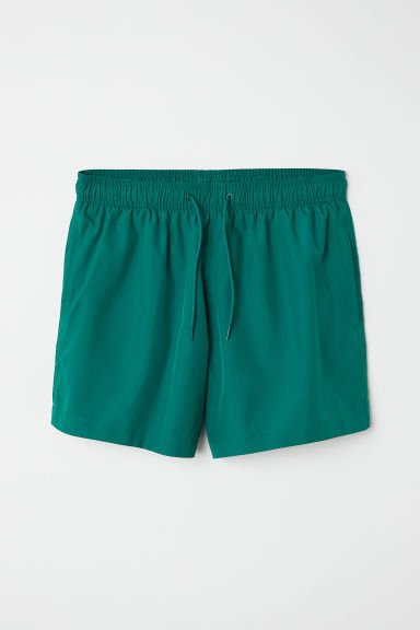 Swim shorts - Dark green - Men | H&M IE