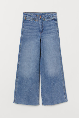 Pantaloni in denim High waist