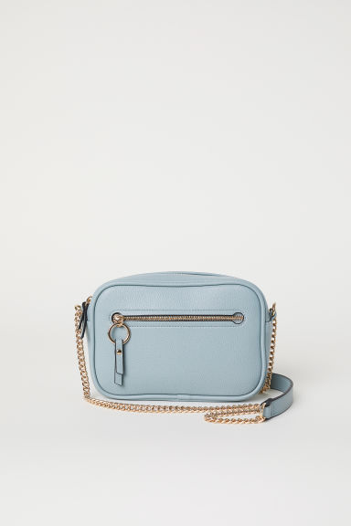 Small Shoulder Bag - Light gray-blue - Ladies | H&M US
