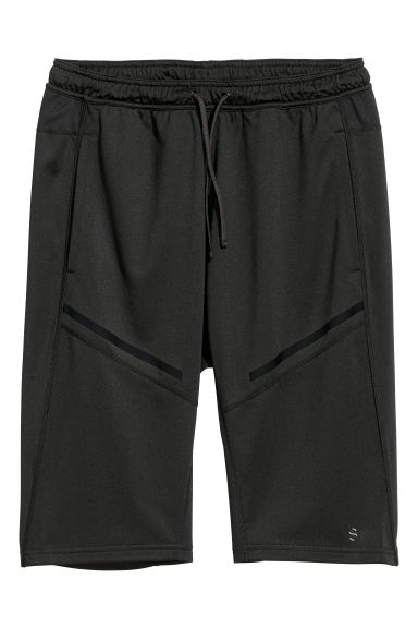 Sports shorts - Black - Men | H&M GB