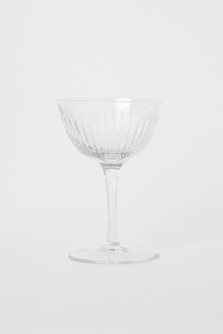 Champagne Coupe - Clear glass -  | H&M CA
