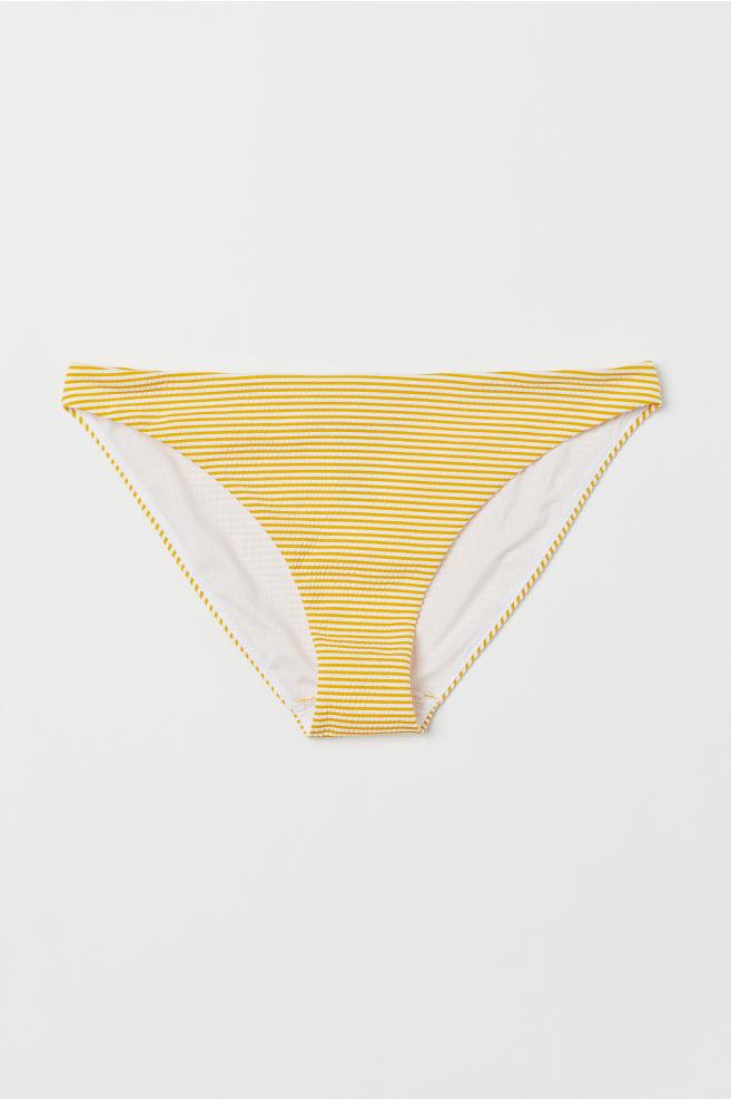 c029af89809 ... Bikini bottoms - Yellow/White striped - Ladies   H&M ...