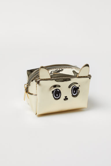 Mini pouch bag - Gold-coloured -  | H&M
