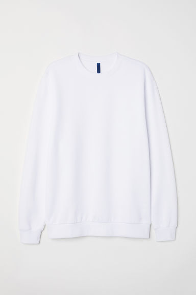 Oversized sweater - Wit - HEREN | H&M BE