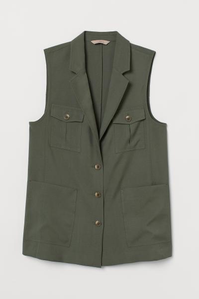 H&M - H&M+ Utility waistcoat - 1