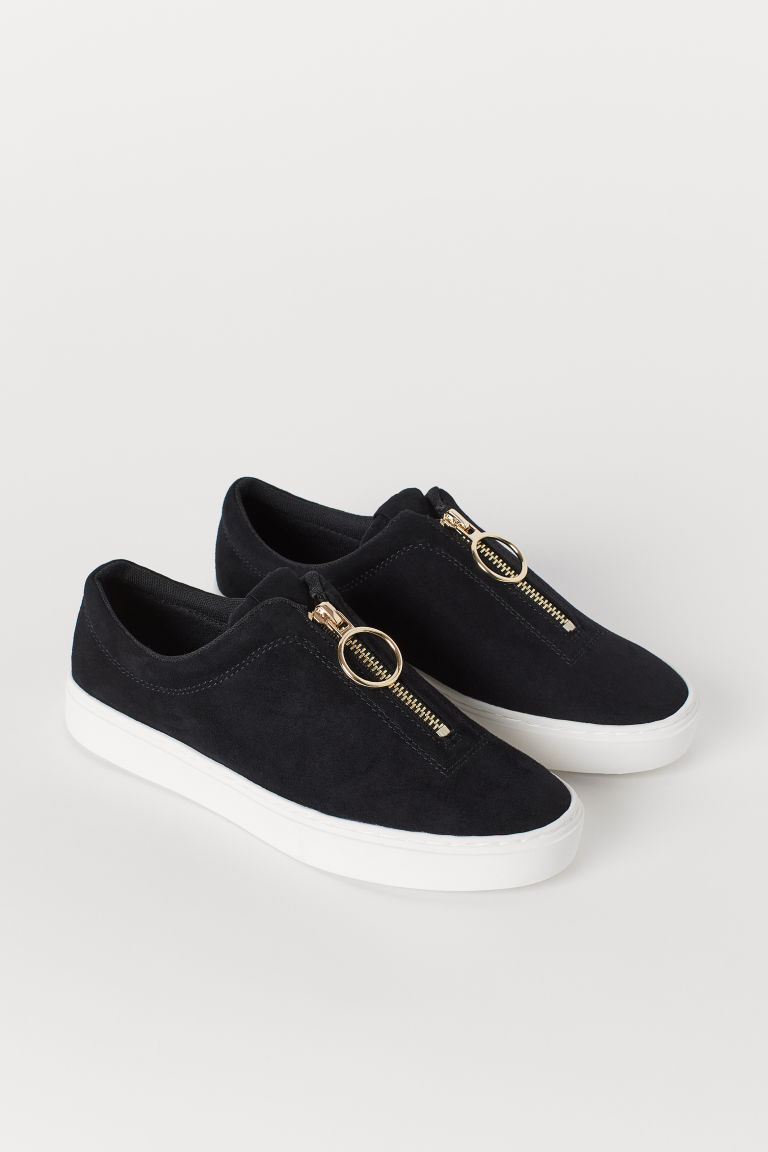 Sneakers con cerniera - Nero - DONNA | H&M IT