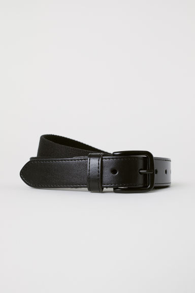 Webbing belt - Black - Men | H&M CN