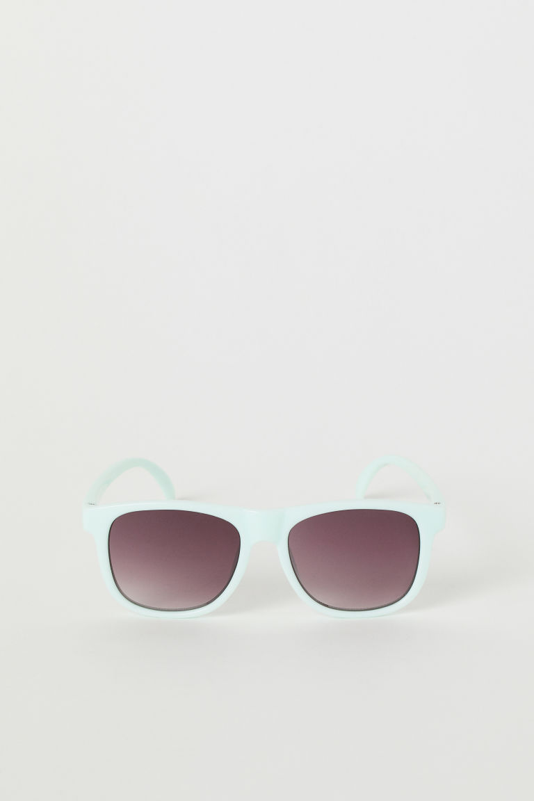 Sonnenbrille - Helltürkis - Kids | H&M AT