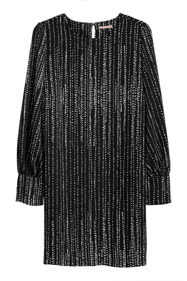 H&M+ Dress - Black/Patterned - Ladies | H&M CN