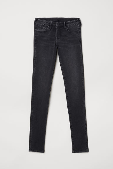 Super Skinny Low Jeans - Svart/Washed - DAM | H&M SE