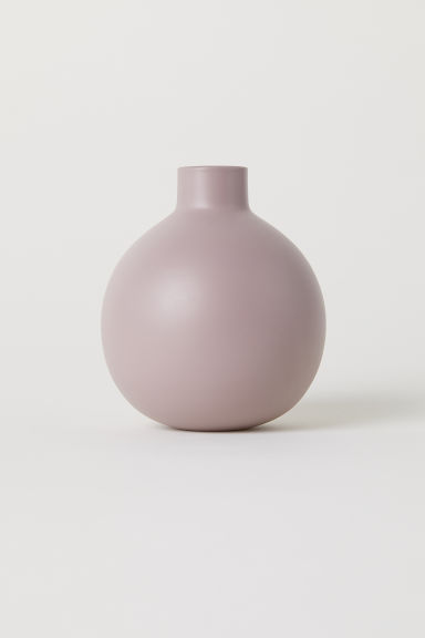 Small glass vase - Old rose - Home All | H&M GB