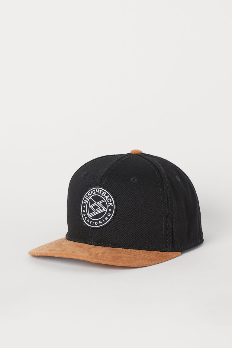 Cap - Black/Beige - Men | H&M