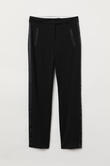 Cigarette trousers - Black - Ladies | H&M CN