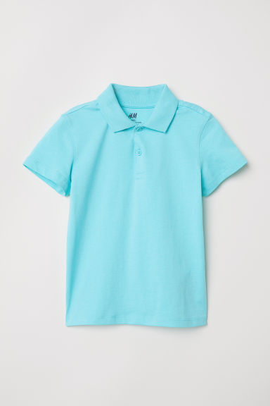 Polo shirt - Turquoise -  | H&M