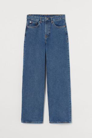 Loose Wide High Jeans