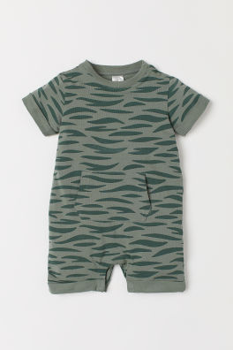 1cbc7ac4a86a Printed jersey romper suit