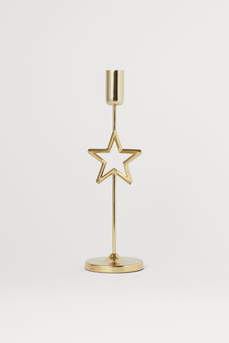 Kerzenständer aus Metall - Goldfarben - Home All | H&M AT
