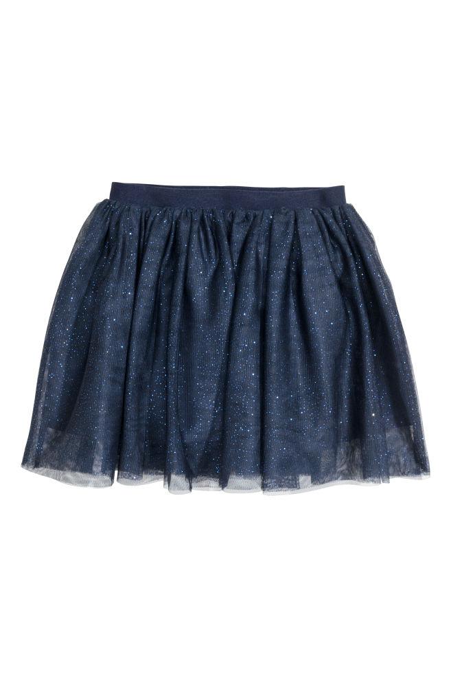 3a76784a0c Falda de tul - Azul oscuro - NIÑOS