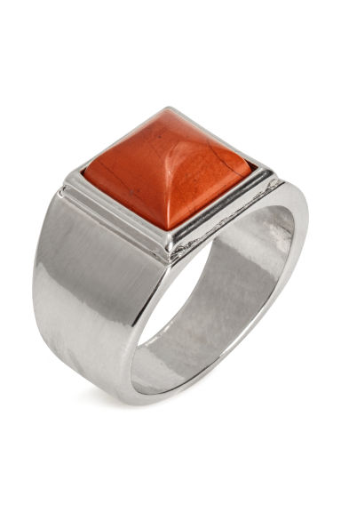 Ring - Silver-coloured - Men | H&M