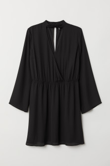 H&M+ V-neck Wrap Dress