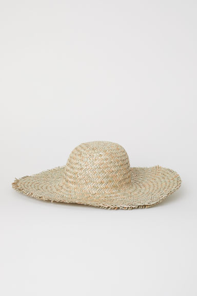 Straw hat - Natural - Ladies | H&M