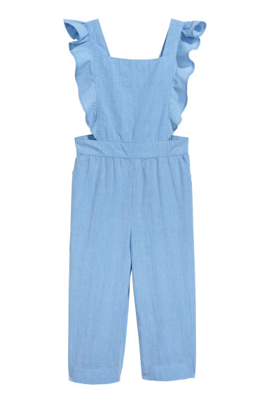 Flounced playsuit - Light blue - Kids | H&M CN