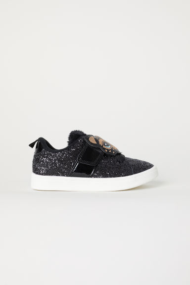 Sneakers glitter - Nero/glitter - BAMBINO | H&M IT