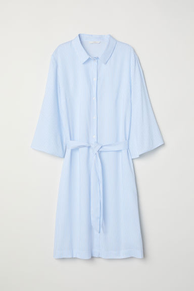 Chemisier - Bianco/blu righe - DONNA | H&M IT