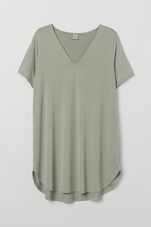 H&M+ Short-sleeved Tunic