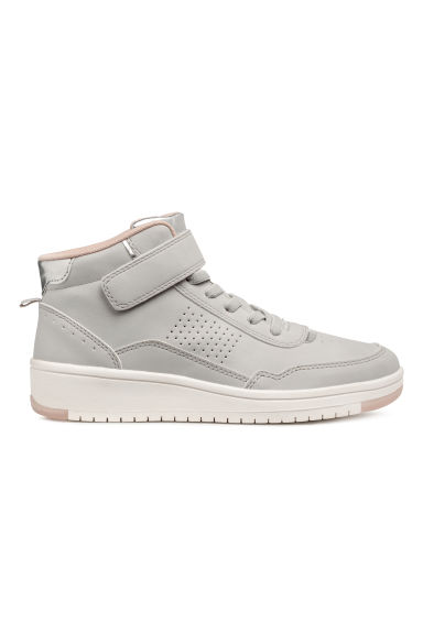 Hi-top trainers - Light grey - Kids | H&M