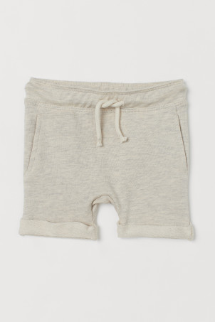 Appliquéd shorts